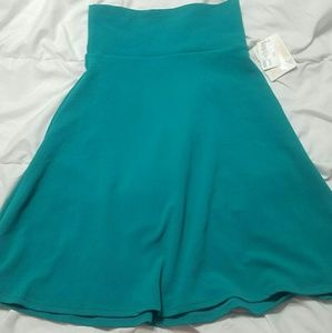 Small Azure Stretchy Skirt